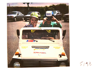 1992 Auch die nächste Generation teilt die Liebe zum Automobil