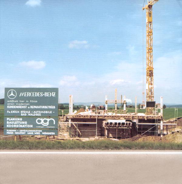 Autohaus Stehle Historie 1976