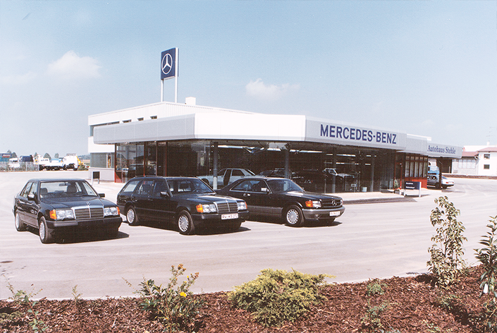 Autohaus Stehle Historie 1988