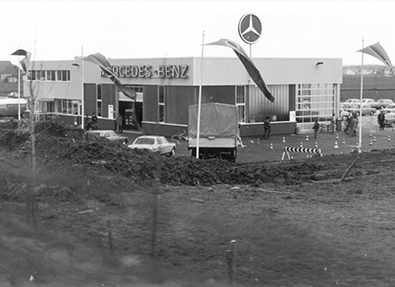 1982 Anbau der LKW-Werkstatt